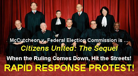 Supreme Court Rapid Response Protest