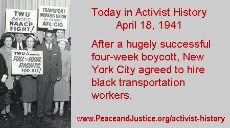 Today in Activist History