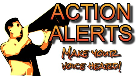 Action Alerts: Make Your Voice Heard