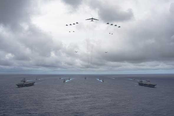 Photo: U.S. Navy/MC1 Trevor Welsh