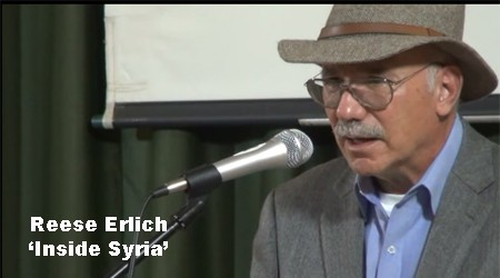 Video – Reese Erlich: 'Inside Syria'