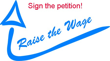 Sign the Petition: Raise the Minimum Raise!