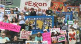 Exxon Mobil's shareholders meeting was totally overrun by climate demands