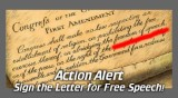 Action Alert: Protect Freedom of Speech
