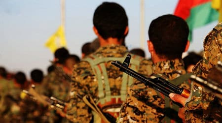 Kurdish YPG Fighters  Photo: Kurdishstruggle @ Flickr - CC BY 2.0