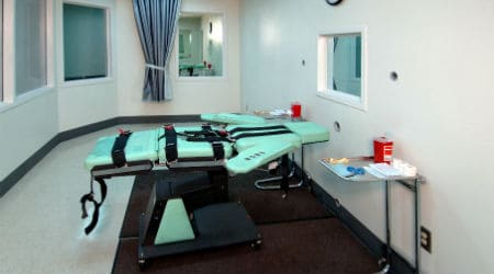 Lethal Injection Room at San Quentin Prison   Photo: California Department of Corrections and Rehabilitation - Public Domain