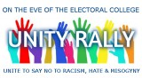 Unity Rally! So No to Hate!