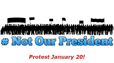 Inauguration Day Protest