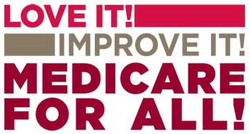 (Image by National Nurses United, Medicare for All campaign)