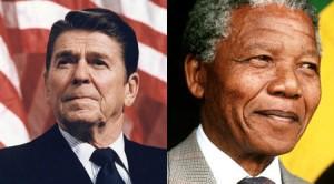 Ronald Reagan vetoed a bipartisan bill to impose tough sanctions on the apartheid regime.
