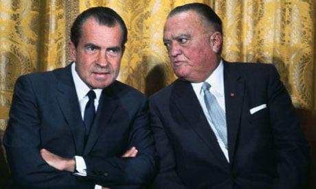 J Edgar Hoover helped Richard Nixon gain power in the US. (Photo: Bettmann/CORBIS)