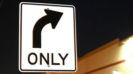 right-turn