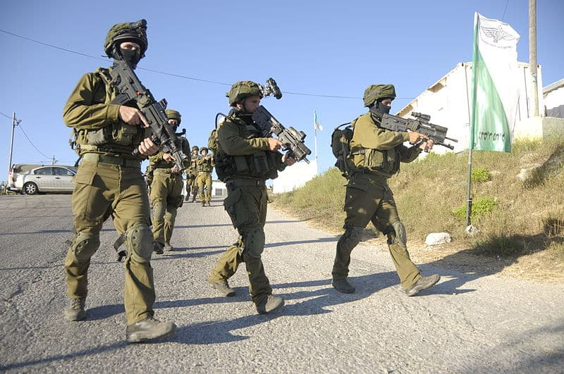 Israeli forces search for three Israeli teenagers presumed kidnapped on June 12th.