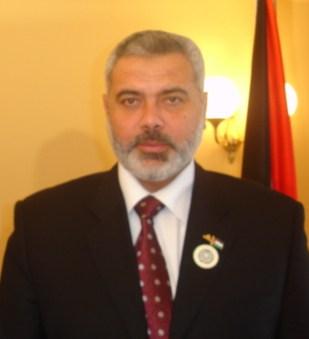 Hamas Prime Minister Sheikh Ismael Haniyeh