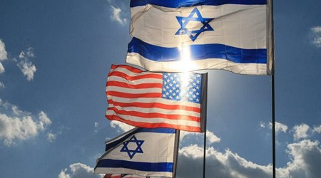 Israel-US-flags