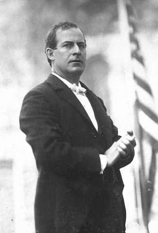 William Jennings Bryan was the chosen candidate resulting from the fusion of the Democrats and the People's Party