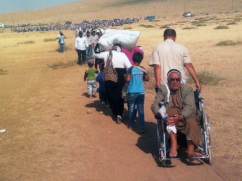 Massive influx of Syrian Kurdish refugees into Turkey (Photo credit: EC/ECHO)