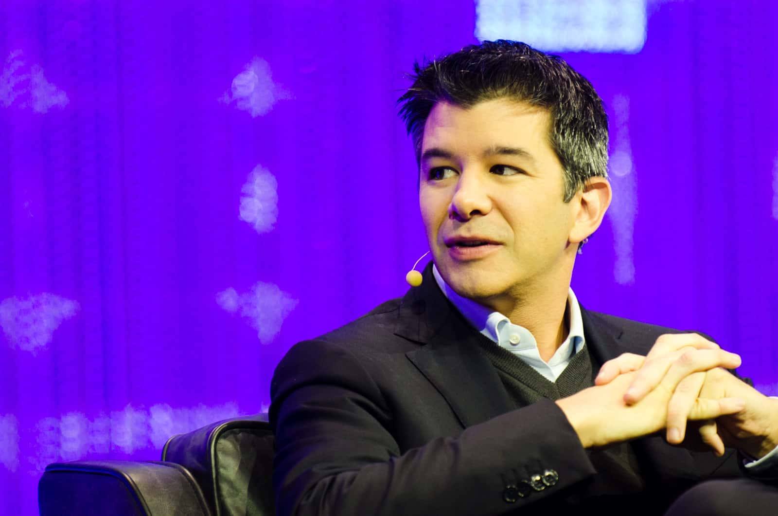 "Travis Kalanick, Uber CEO. 'Nullifying companies like Uber claim they are striking a blow against regulations they consider ""out-of-date"" or ""anti-innovation"" – their major innovation, however, is to undermine local needs and effective governance.' (photo: Heisenberg Media/flickr/cc)"