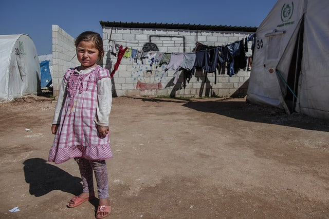 Syrian Refuge Camp (Photo: IHH Humanitarian Relief Foundation @ flickr.cc)
