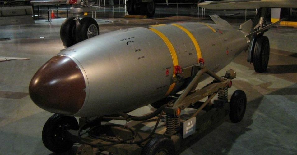 A Mark 7 Nuclear Bomb at the National Museum of the United States Air Force in Dayton, Ohio. (Photo: Wikimedia / Creative Commons)