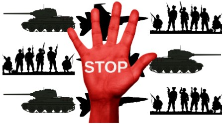 stop war money