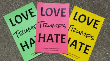 love trumps hate x