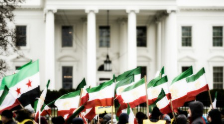 450px iran flags white house