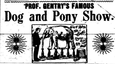 Prof._Gentry's_Famous_Dog_and_Pony_Show