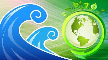blue wave green deal