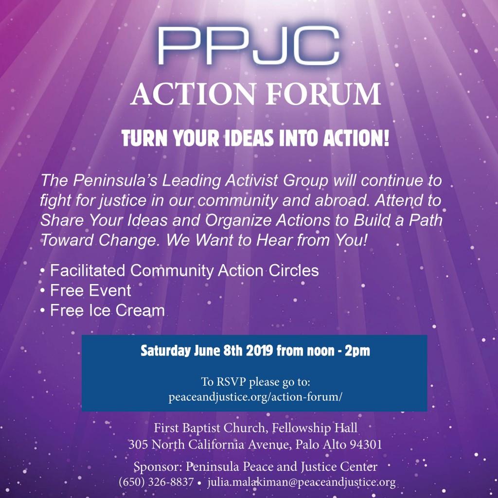 PPJC Action Forum