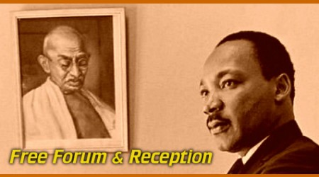 Forum & Reception: The Gandhi-King Global Initiative